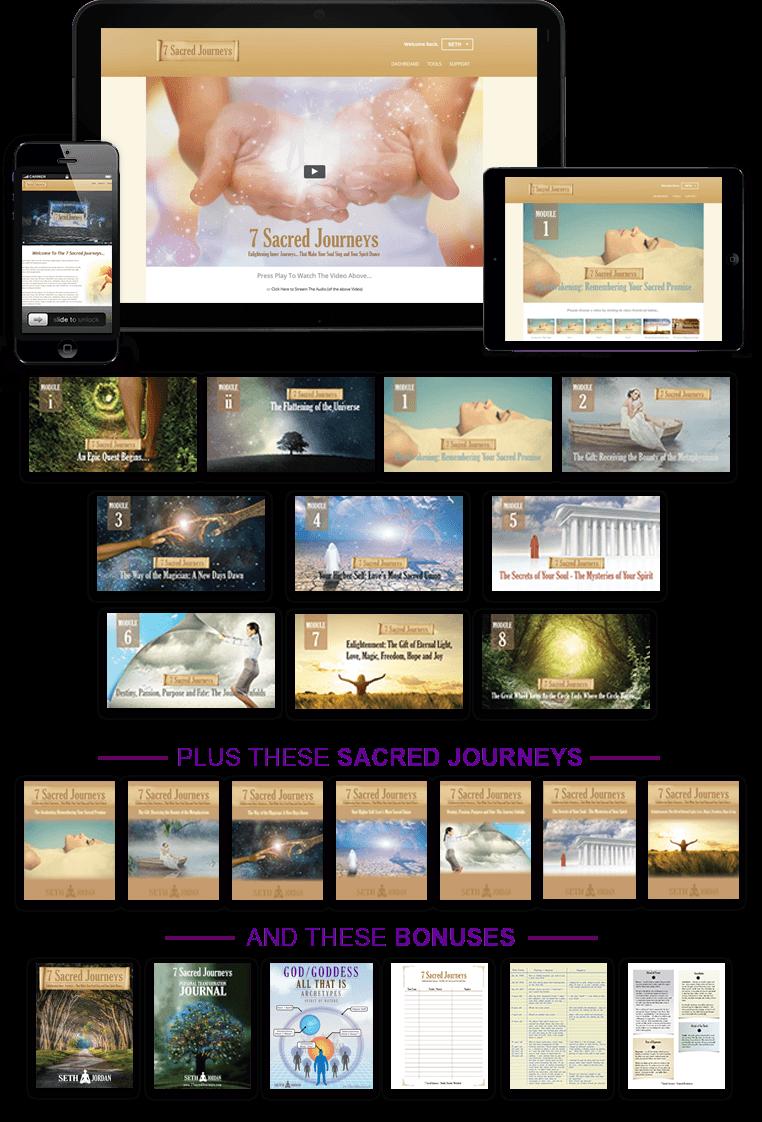7 Sacred Journeys by Seth Jordan